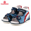 FLAMINGO famous brand 2016 New Arrival Spring & Summer Kids Fashion High Quality sandals for boys 61-XS161