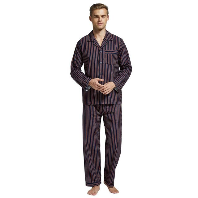 Men's Warm Cotton Pajamas