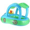 1 pcs Venda Quente de Alta Qualidade Bebê Inflável Float Assento Barco Anel Tubo de Sol Carro sombra Piscina de Água Portátil