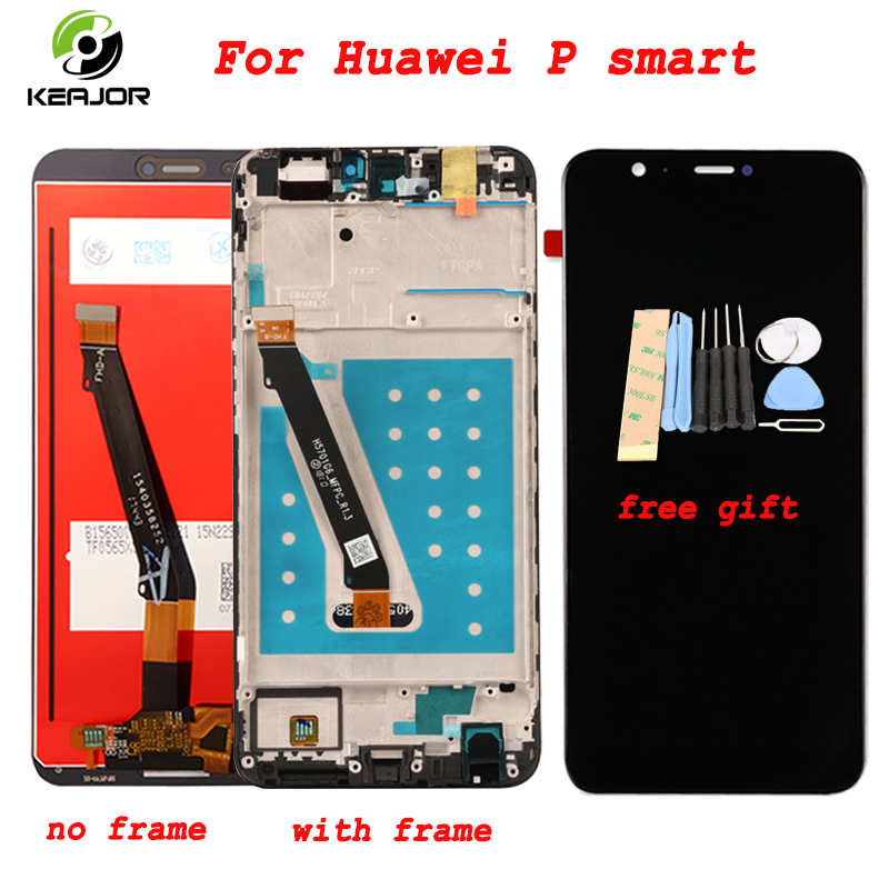Phone Display For Huawei P Smart Touch Screen LCD Display Digitizer Assembly Replacement For Huawei P Smart Global VersionPhone Display For Huawei P Smart Touch Screen LCD Display Digitizer Assembly Replacement For Huawei P Smart Global Version