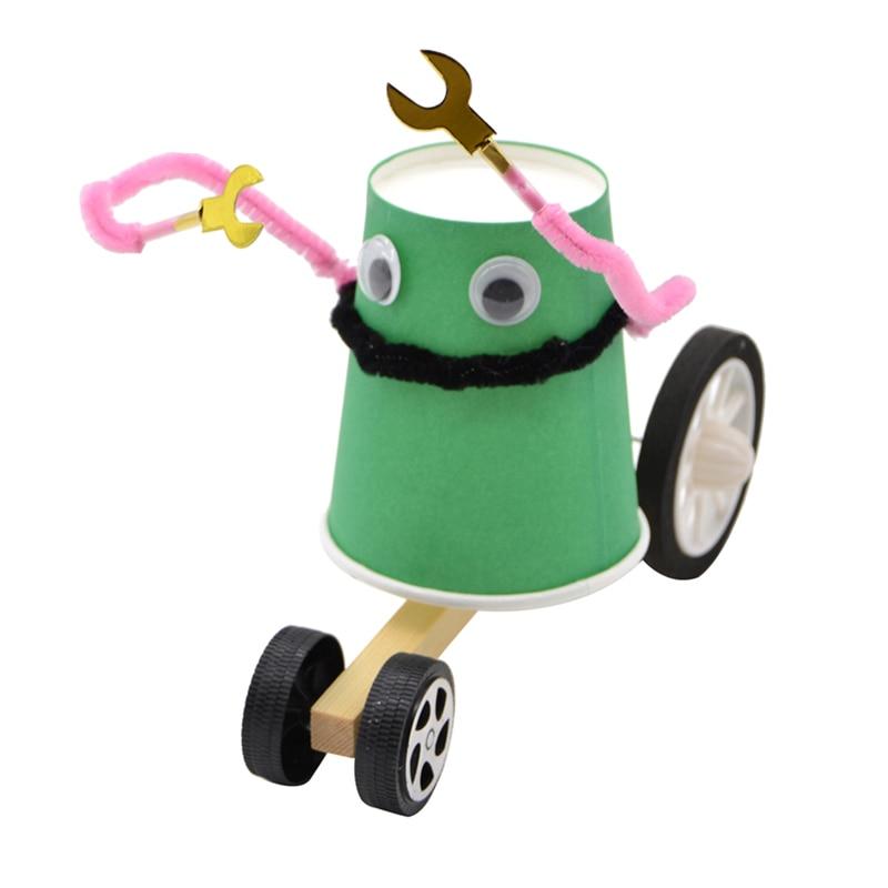 Kids Cartoon Pull Line Robot Toys Educational Technology ...