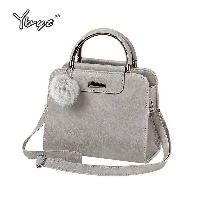 YBYT brand 2017 new vintage casual PU leather women handbags hotsale ladies small shopping bag shoulder messenger crossbody bags
