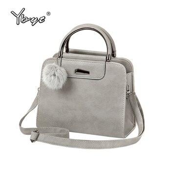 цены YBYT brand 2019 new vintage casual PU leather women handbags hotsale ladies small shopping bag shoulder messenger crossbody bags