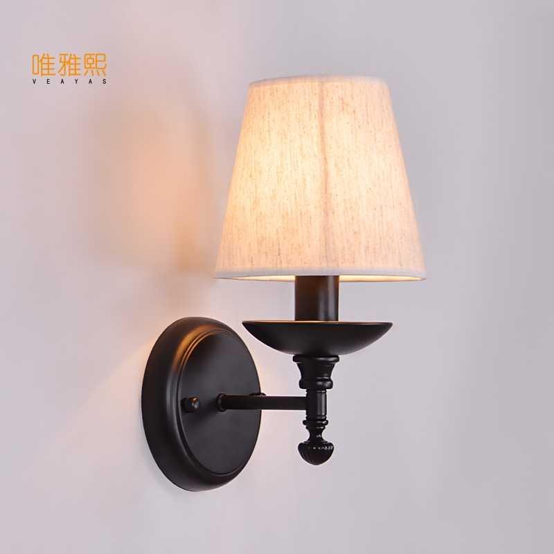 Крытый настенный светильник AC110V/220 V Спальня декоративный светильник холодного светодиодный настенный светильник