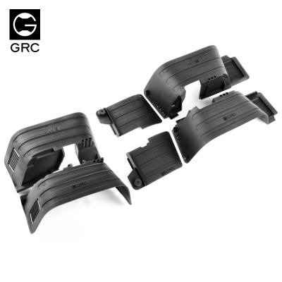 GRC cubierta por Axial de 90046 guardabarros interior (molde) SCX10 Cherokee Wrangler fácil DIY