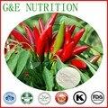 Chile capsaicina Extracto 100% natural puro en polvo 10g