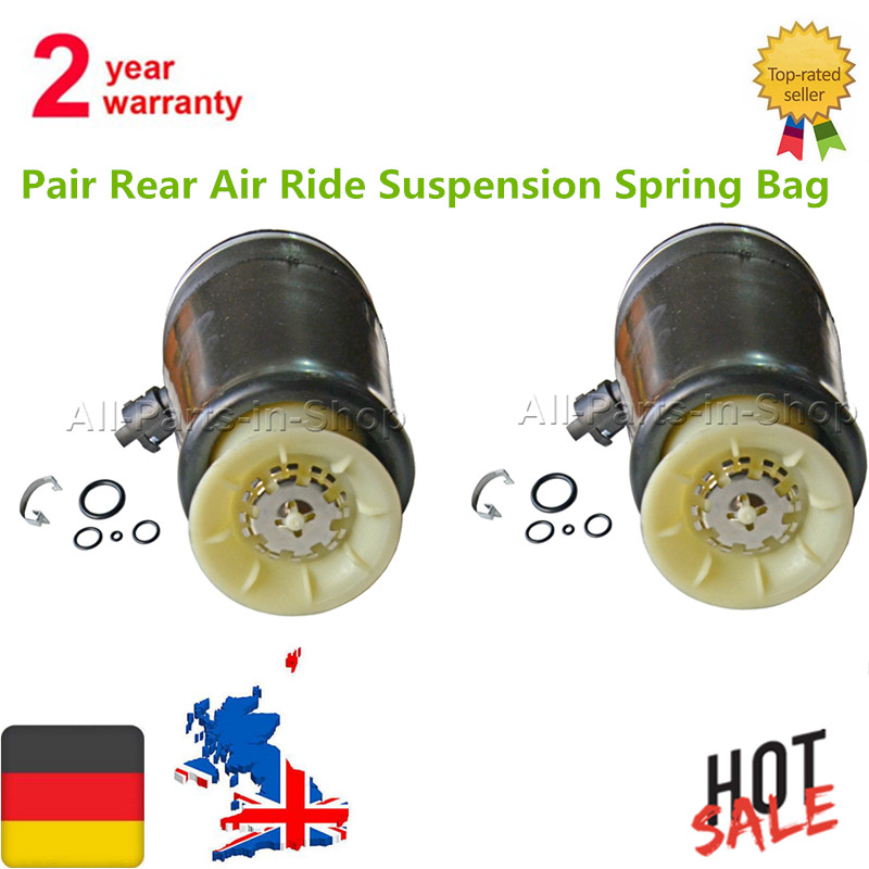 2 Pcs New Pair Rear Air Ride Suspension Spring Bag For Lincoln Town