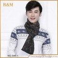 2016 nuevo llegado moda diseño casual bufandas otoño e invierno de hombre bufanda de marca alta calidad caliente cuello bufandas Modal