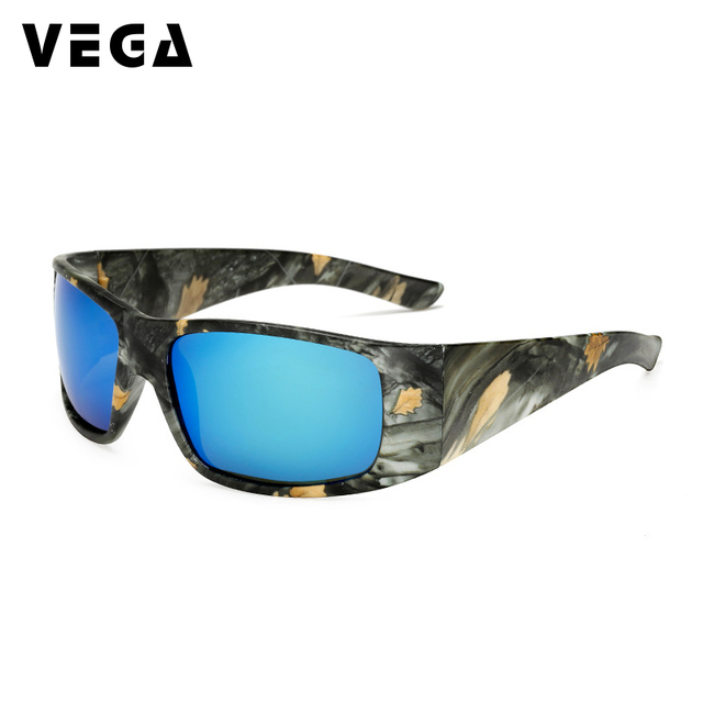 0be83528ab32 VEGA Eyewear Best Sports Camouflage Glasses Men Women Sports Sunglasses  Polarized Biker Camo Sunglasses for Police Driver 208