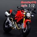 Бесплатная доставка Maisto Монстр 696 Мотоциклов 1:12 Diecast Металла Спортивный Мотоцикл Модель Игрушки Новые в Коробке Для Детей