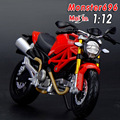 Freeshipping Maisto Monster 696 Motorcycles 1:12 Diecast Metal Sport Bike Model Toy New in Box For Kids