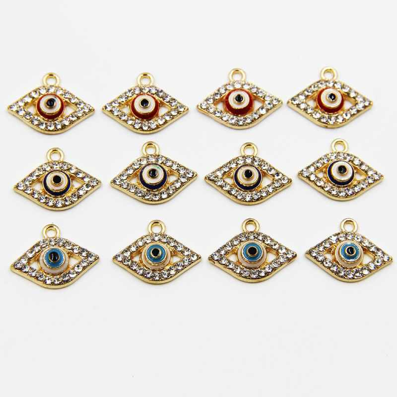 aliexpress buy 20pcs 18mm new style alloy evil eye