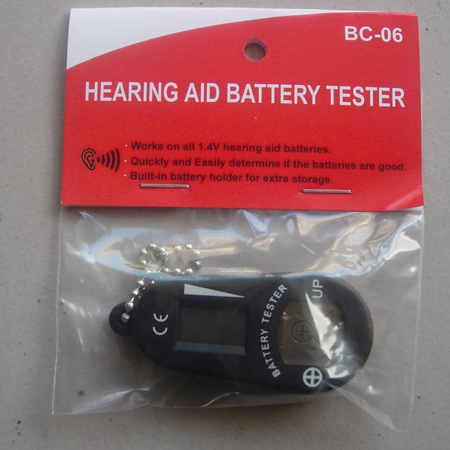 NEW ACU LIFE HEARING AID BATTERY TESTER Easy To Read
