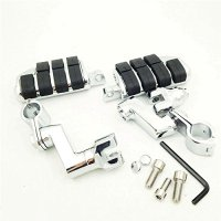 1 Kuryakyn Dually Highway Clamps Large Foot Pegs For Honda GoldWing GL1800 GL 2001 2011