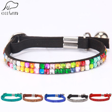 Dog Collar Leather Pet Collars Wholesale Dogs Diamond for Training and Walking Harness Leash YS0034