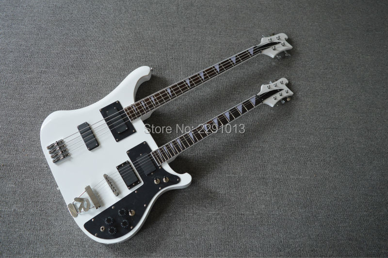 top quality product double neck 4003 bass guitar 4 strings 6 strings bass best accessories and. Black Bedroom Furniture Sets. Home Design Ideas