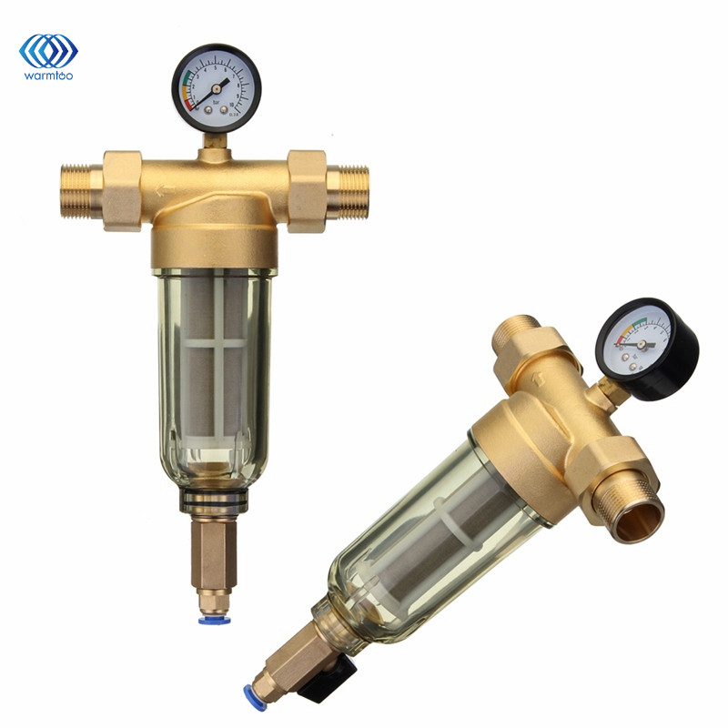 Front Water Filter 4 Or 6 Sub Interface Explosion Proof Frost Resistance 304 Stainless Steel Filtration Core Copper Valve Head cctv security explosion proof stainless steel general bracket