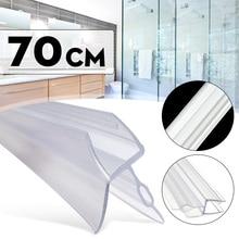 4-6 мм экран для душа уплотнение воды полоса бар изогнутые плоские стеклянные двери ванной до 17 мм зазоров