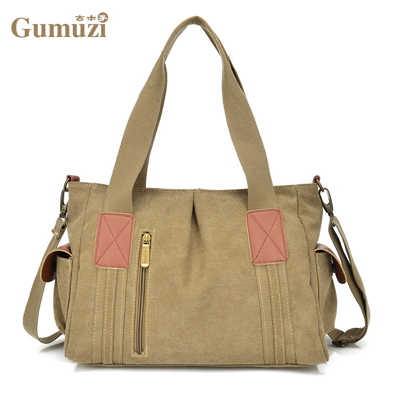 New 2017Women Bag Canvas Handbags Messenger bags for Women Handbag Shoulder Bags Designer Handbags High Quality bolsa feminina women handbag shoulder bag messenger bag casual colorful canvas crossbody bags for girl student waterproof nylon laptop tote