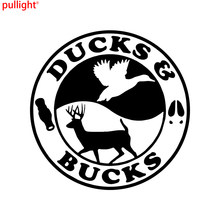 online get cheap truck gun aliexpress alibaba group Black Tommy Gun personality duck buck hunting hunter gun car truck window wall laptop vinyl decal sticker