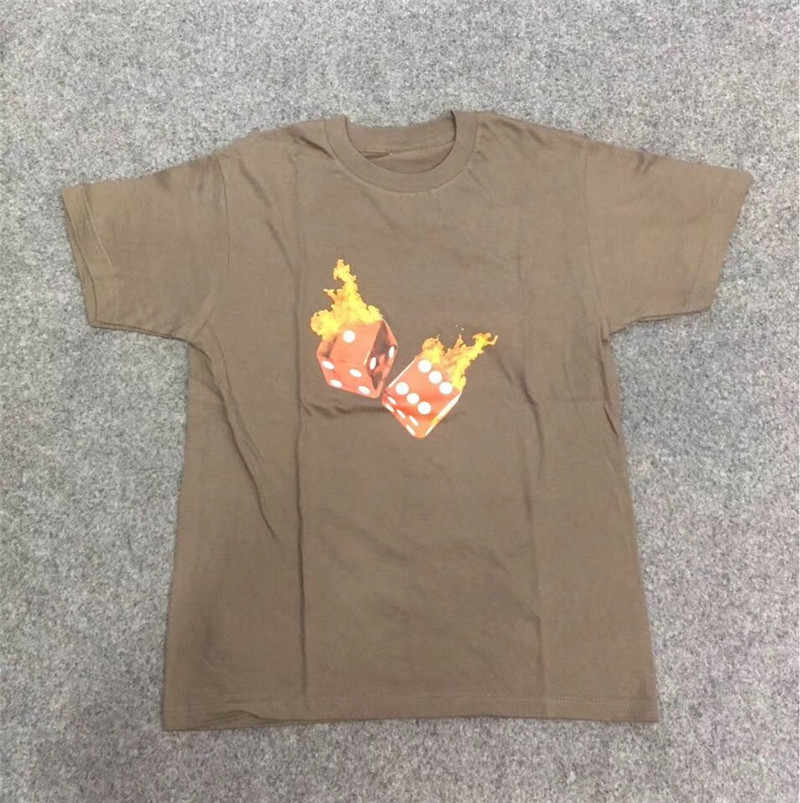 f598fdf33226 ... 19ss Travis Scott Astroworld Tour Vegas Shirt T-shirt Wen 1:1 high  Quality ...