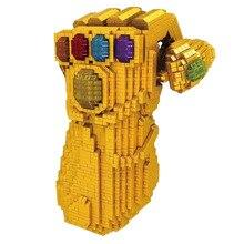 2019 New Mini Thanos Energy Stones Gloves Compatible legoergy Building Blocks Single Endgame Kids Toys Gift
