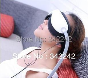 все цены на  free shipping New Air pressure Eye massager with mp3.6 functions.Dispel eye bags,eye magnetic far-infrared heating.eye care  онлайн