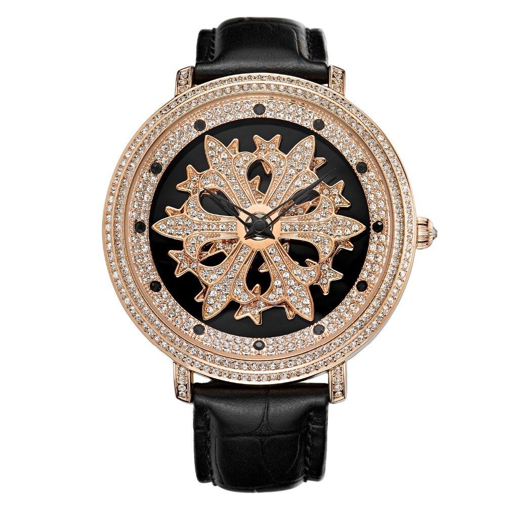 MATISSE Fashion Austria Crystal Rotatable Dial Lady Women Buiness Quartz Watch Wristwatch matisse fashion austria crystal rotatable dial lady women buiness quartz watch wristwatch