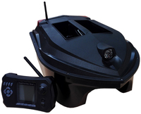 PDDHKK 300m Remote Control Distance Bait Boat Dual 10AH Battery Fishing Bait RC Boat Fish Finder With Double Warehouse