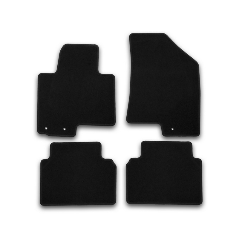 Car Mats 3D salon For RENAULT Duster 2WD, 2011-2015, front left, 1 PCs (polyurethane)
