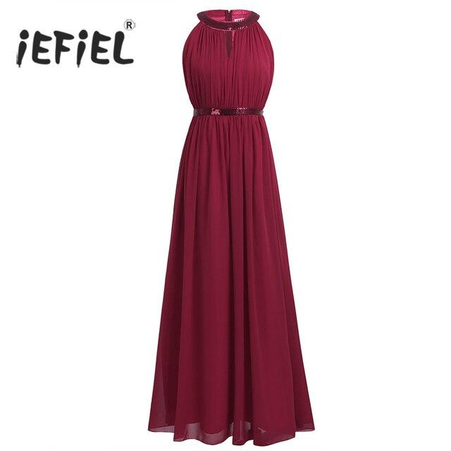 1b1889a4ce IEFiEL Kobiety Panie Balu Togi Hollow Out Maxi Sukienki Formalne Długa  Suknia Ślubna Plaża Vestidos Wieczór