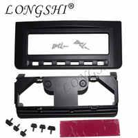 Fascia Per Mitsubishi Pajero Sport Triton L200 Mornitor MID Radio DVD Stereo Pannello Centrale Dash Montaggio Installazione Trim Kit