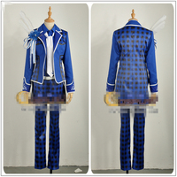 Japanese Amine Hot Game B project MOONS Masunaga Kazuna Game Edition Play Suits Blue Custom Made Man Clothing