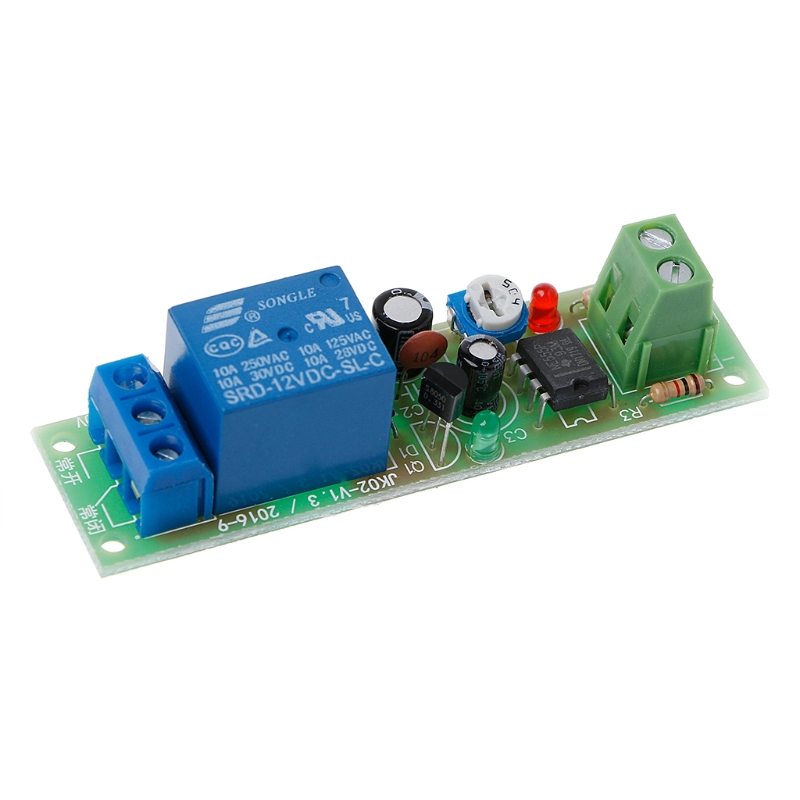 NE555 Relay DC 5V Timer Adjustable Delay Turn Off ON Switch Time Relay Module in Relays from Home Improvement