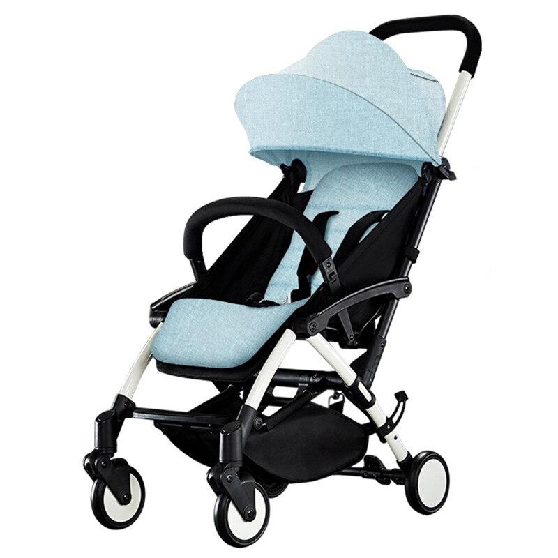 Portable Kidstravel Baby Stroller 2 In 1 Light Folding Baby Carriages For Newborns kidstravel luxury baby stroller for baby foldable portable baby carriages for newborns pram pushchair