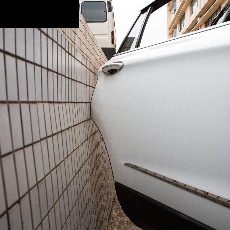 Lsrtw2017 car styling borde de la puerta Scratch Crash strip protección para Lada Niva Kalina priora Granta largus Vaz Samara 2110