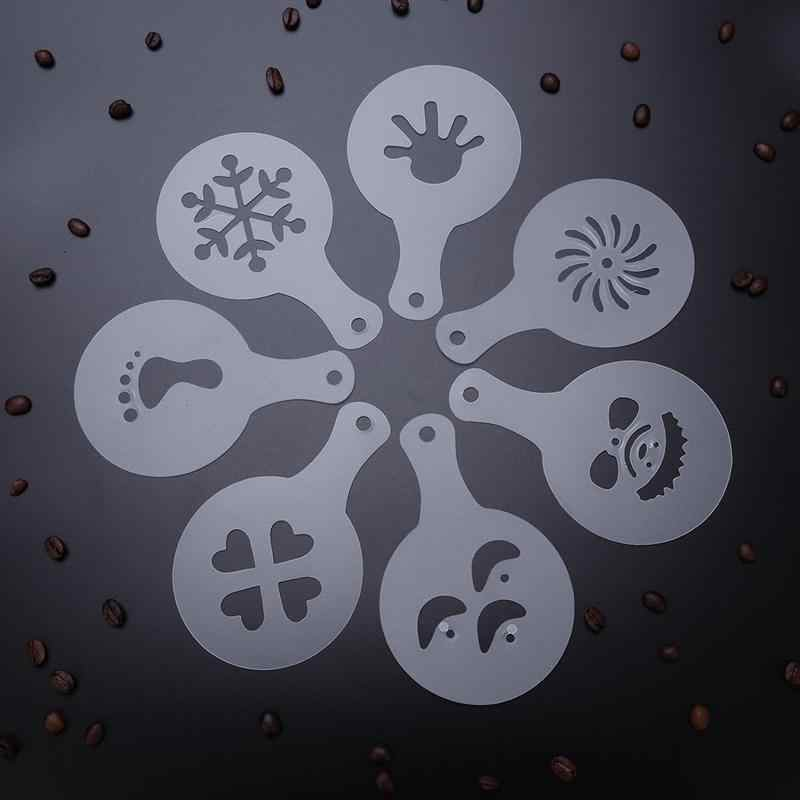 16 Uds Cappuccino Chocolate Shaker tamiz para harina y café agitador de azúcar, dispensadores de sal de acero inoxidable, harina de cacao, especias en polvo, lata