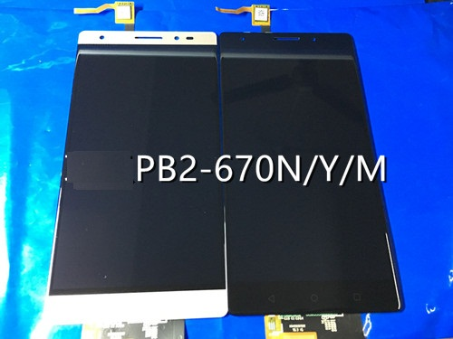 lcd and touch panel For LENOVO PB2 670N PB2 670y PB2 670m Display Touch Screen For LENOVO Phab 2 Plus PB2 670 LCD