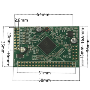 Image 4 - 5 port switch Gigabit modulo è ampiamente usato in LED linea 5 port 10/100/1000 m contatto porta mini modulo switch PCBA Scheda Madre