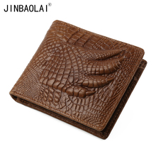 Gubintu Wallet Genuine Leather Men Wallet Cute Pattern Coin Purse Vintage Wallet Famous Brand New Wallets Card Holder Purses все цены