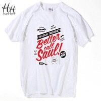 Los Pollos Hermanos BETTER CALL SAUL Men T Shirt Breaking Bad Cotton Short Sleeve Tops Tees