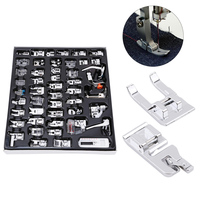 48Pcs For Brother Singer Multi function Domestic Sewing Machine Braiding Blind Stitch Darning Presser Foot Feet Kit Set