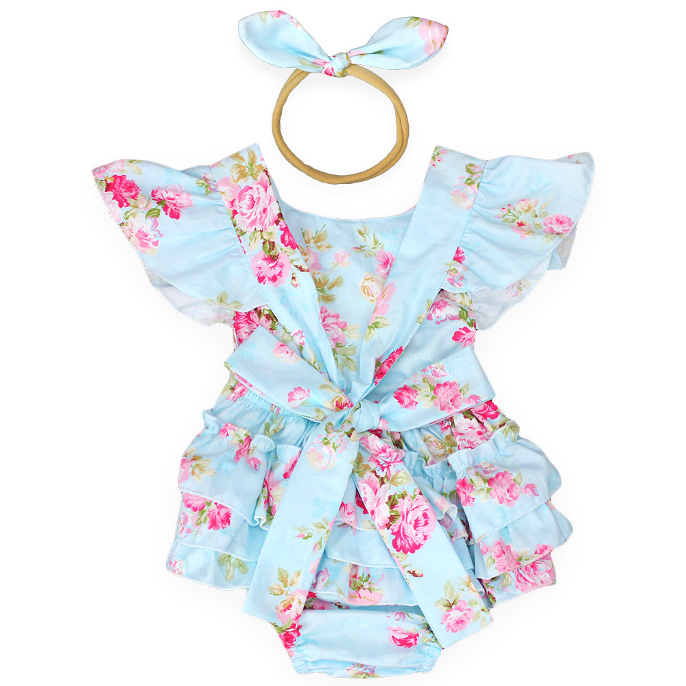 2017 new style baby girls summer clothes ruffle romper headband infantil jumpsuit new born baby clothes roupa infantil menina powder for samsung d108 s powder office supplies for samsung mltd 1083 els powder oem laserjet powder free shipping