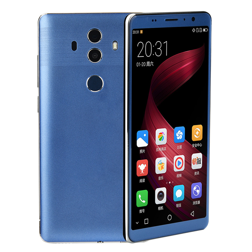 5.0 inch Smartphone Unlocked Android 5.1 Cell Smart Phone Quad Core Dual SIM GD Apr24 homtom ht17 5 5 inch smartphone quad core phones android 6 0 dual cameras 4g