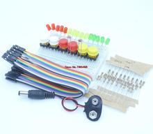 new Starter Kit for UNO R3 mini Breadboard LED jumper wire button for Arduino
