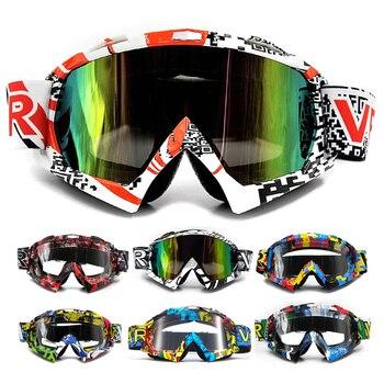 d22a7dfbb9 2019 VEMAR gafas de motocicleta esquí Motocross gafas de gafas Snowboard  gafas de gafas lente única