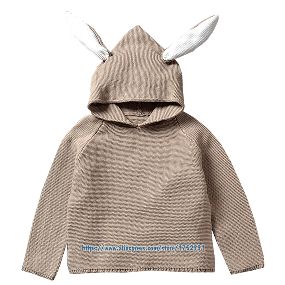 QUIKGROW-Quality-Textured-Cotton-Warm-Knitwear-Baby-Boy-Girl-Long-Sleeve-Sweater-Cute-Bunny-Rabbit-Hooded-Outwear-Tops-YM26MY-3