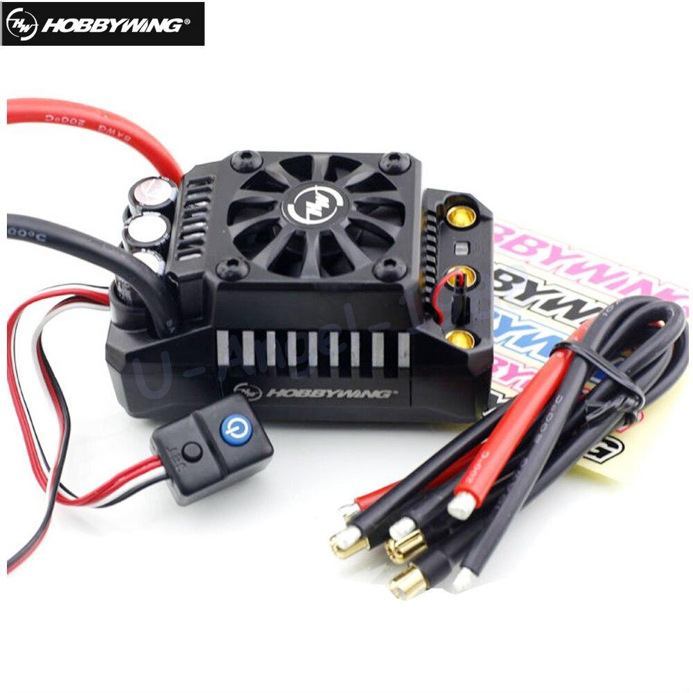 все цены на 1pcs Original Hobbywing EZRUN 200A Waterproof Brushless ESC 1:5 RC Car On Road EZRUN MAX5-V3 онлайн