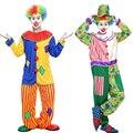2016 новый рекламный Хэллоуин костюм для взрослых клоун костюм магическое шоу одежда маскарадных костюмах Клоуна серии