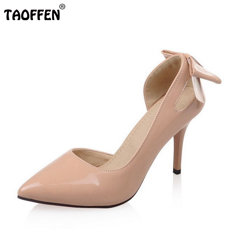 big size 32-46 women thin high heel shoes sexy lady brand quality office work pumps dress fashion concise footwear shoes P22565